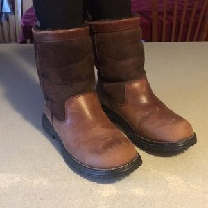 Ugg Suede and Leather Boots